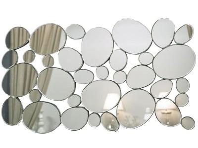 Зеркало c зеркальными овалами