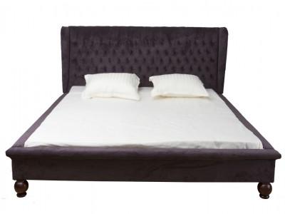 Роскошная кровать с изголовьем