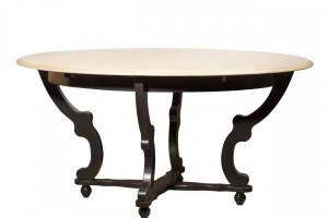 Стол обеденный раскладной овальный