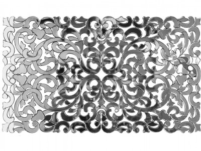 Декоративное зеркало узорчатое KFH1170