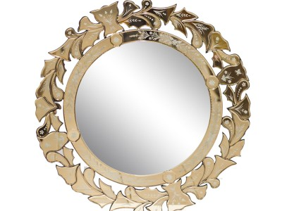Зеркало с золотом