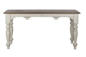 Стол обеденный раскладной белый