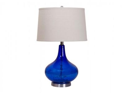 Светильник настольный синий