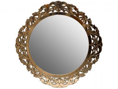 Зеркало декоративное с золотом KFH1469