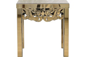 Стол зеркальный квадратный