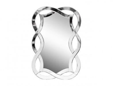 Зеркало декоративное с фигурной зеркальной рамой 17-0925