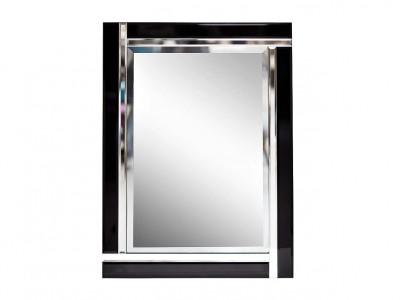 Зеркало с тильной черной раме 17-8010