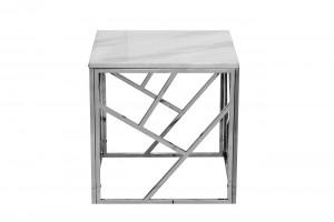 Столик квадратный из мрамора