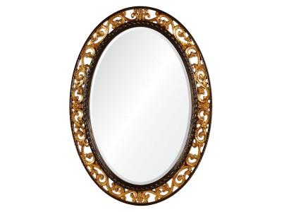 Rosalie A88002-2 античное золото в коричневом обрамлении