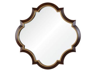 Krysta A88015-1 коричневое с золотой рамкой