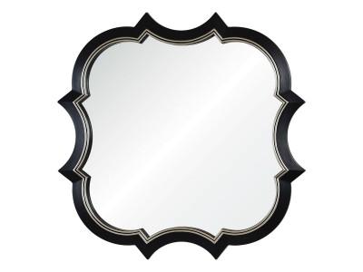 Krystal A88015-2 черное с серебряной рамкой