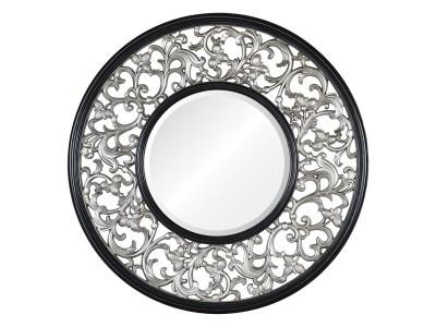 Bergamo А88027-2 серебро с чёрным