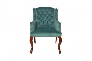 Кресло изумрудное мягкое