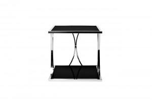 Столик из черного секла квадратный