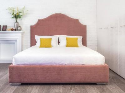 Кровать «Лилу» с гладким центром