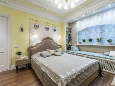 Кровать «Вивьен» с гладким центром