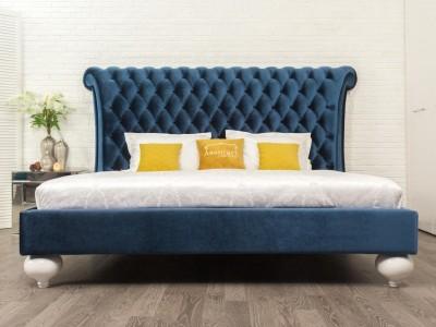 Кровать «Шарллот» с каретной стяжкой на 2-х опорах