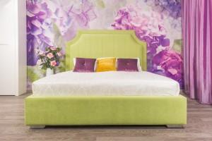 Кровать «Наоми» с гладким центром