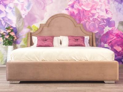 Кровать «Бель» с гладким центром
