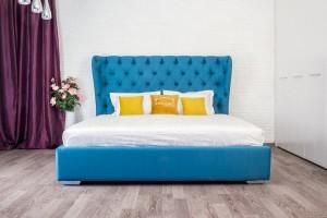 Кровать АРАБЕЛЬ с каретной стяжкой