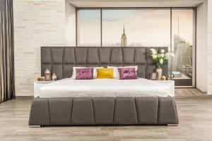 Кровать «Гарольд» с мягкими панелями